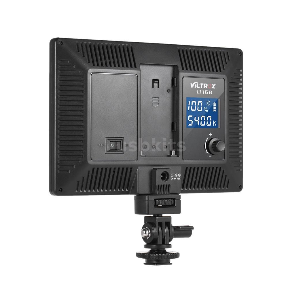 VILTROX Photo Studio LED Video Light Lamp for Canon Nikon Camera Camcorder S3B6