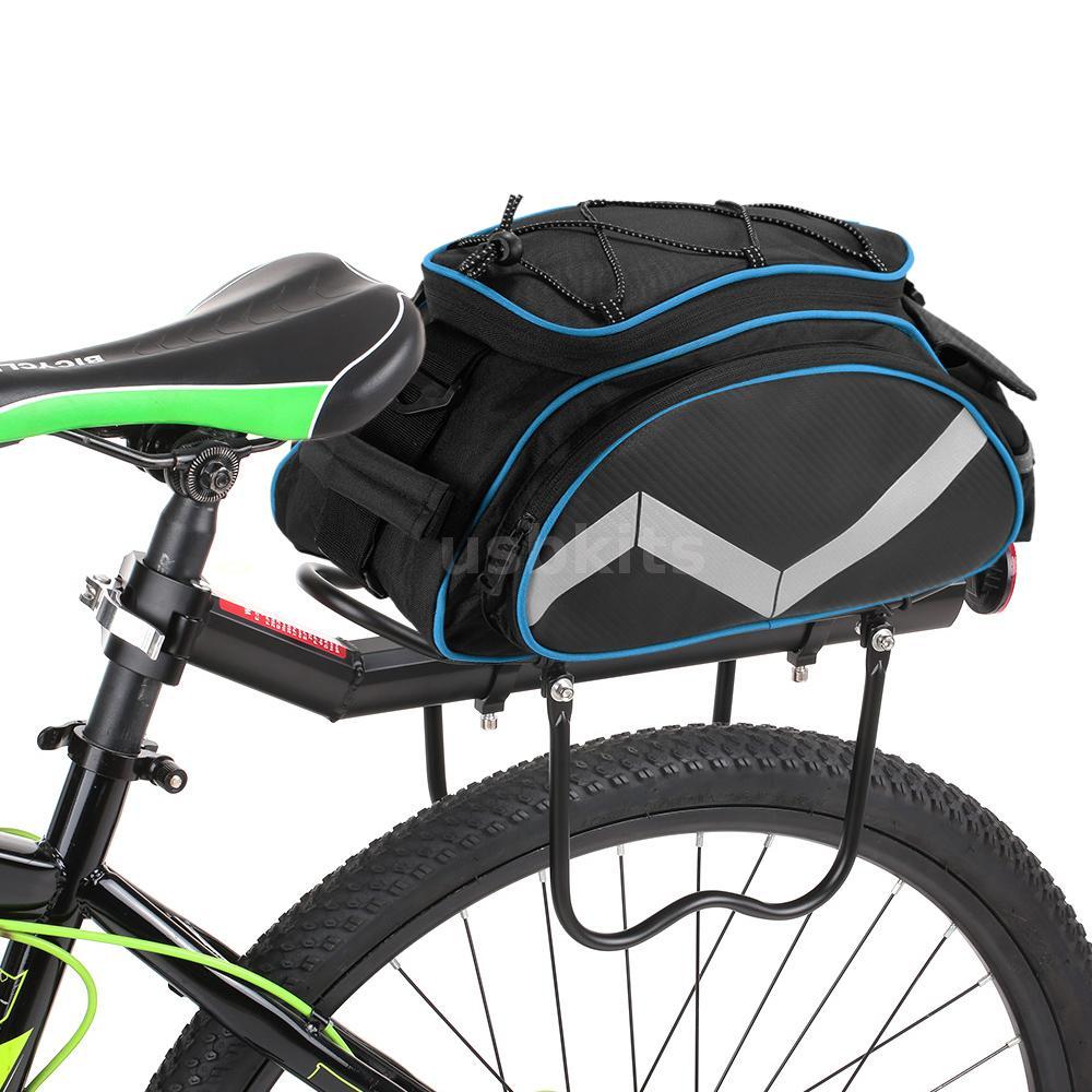 13L Cycling Bike Rear Seat Frame Saddle Bag Shoulder Bicycle Storag